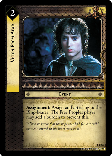 Vision From Afar (4R259) Card Image