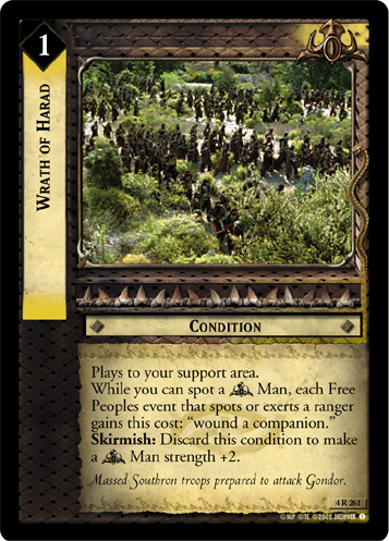Wrath of Harad (4R261) Card Image