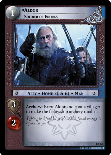 Aldor, Soldier of Edoras (4R262) Card Image
