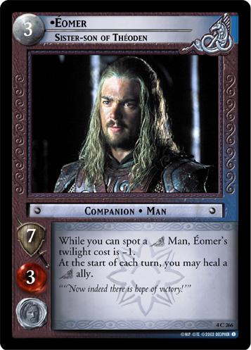 Eomer, Sister-son of Theoden (4C266) Card Image
