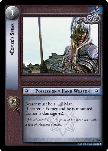 Eomer's Spear (4U268) Card Image