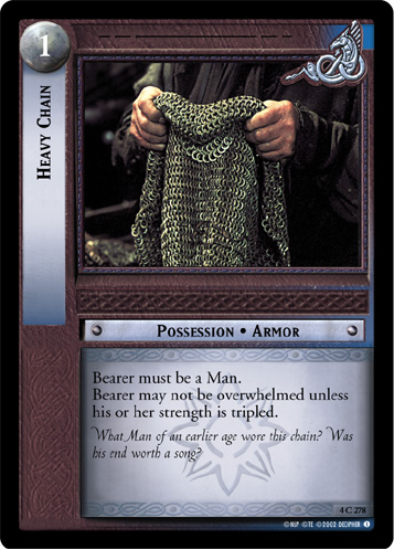 Heavy Chain (4C278) Card Image