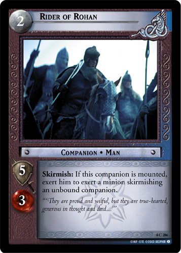 Rider of Rohan (4C286) Card Image
