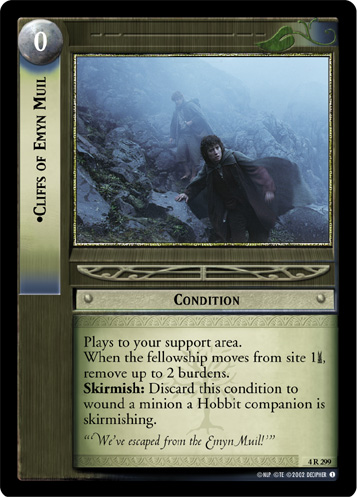 Cliffs of Emyn Muil (4R299) Card Image