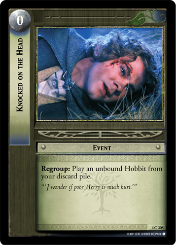 Knocked on the Head (4C308) Card Image