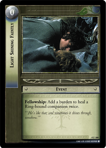Light Shining Faintly (4U309) Card Image