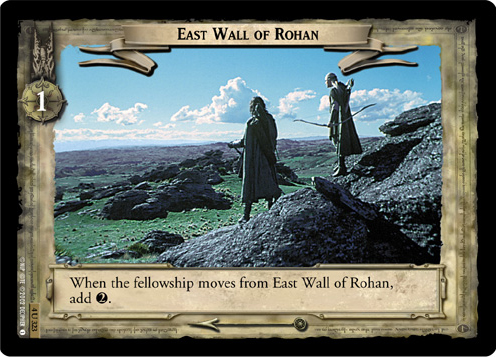 East Wall of Rohan (4U323) Card Image