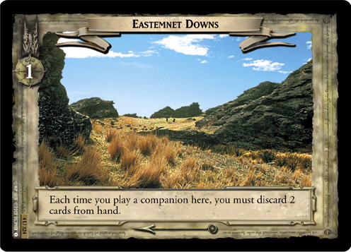 Eastemnet Downs (4U324) Card Image