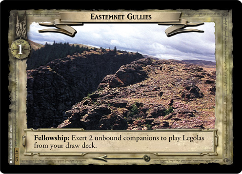Eastemnet Gullies (4U325) Card Image