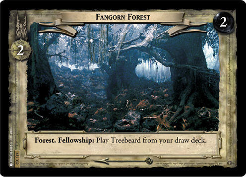 Fangorn Forest (4U332) Card Image