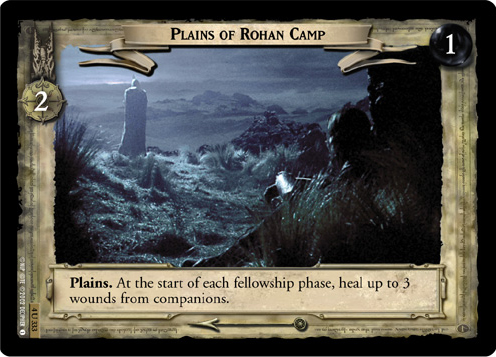 Plains of Rohan Camp (4U333) Card Image