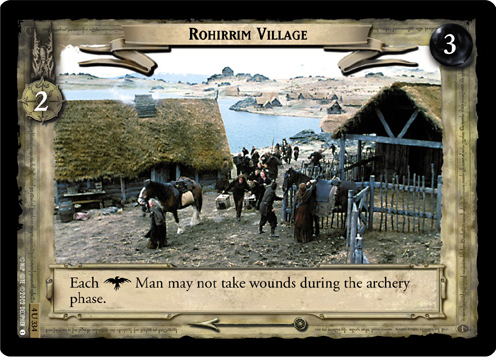 Rohirrim Village (4U334) Card Image