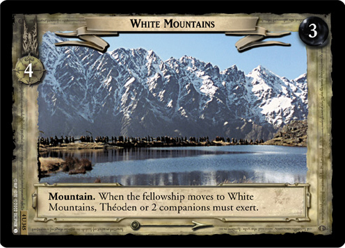 White Mountains (4U345) Card Image