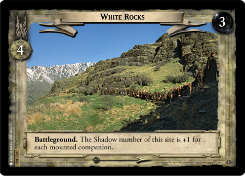 White Rocks (4U346) Card Image