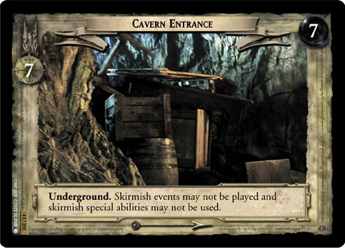 Cavern Entrance (4U355) Card Image