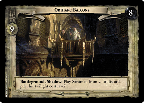 Orthanc Balcony (4U361) Card Image