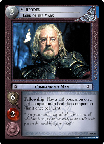 Theoden, Lord of the Mark (4P365) Card Image