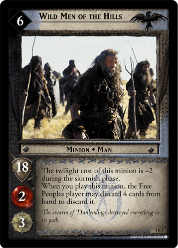 Wild Men of the Hills (5R4) Card Image