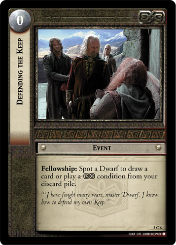 Defending the Keep (5C6) Card Image