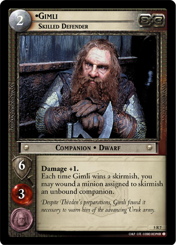 Gimli, Skilled Defender (5R7) Card Image