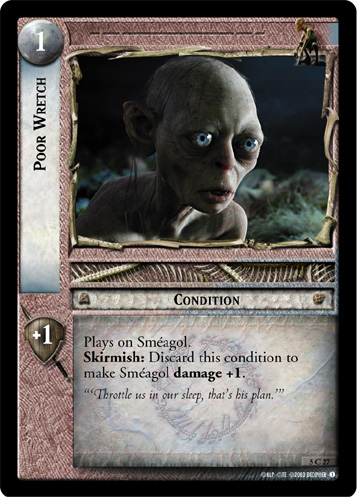 Poor Wretch (5C27) Card Image