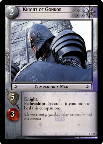Knight of Gondor (5C36) Card Image