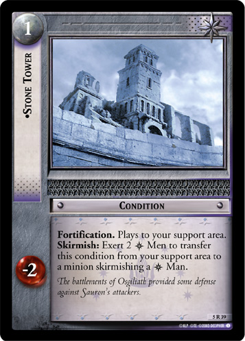 Stone Tower (5R39) Card Image