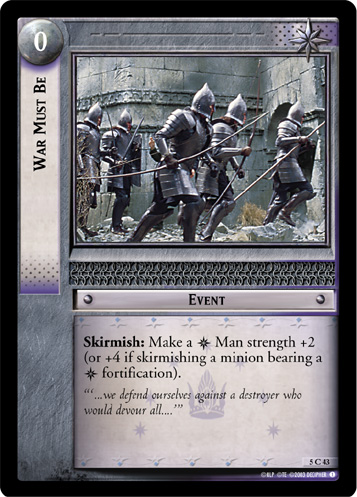 War Must Be (5C43) Card Image