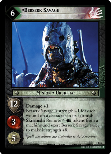 Berserk Savage (5R46) Card Image