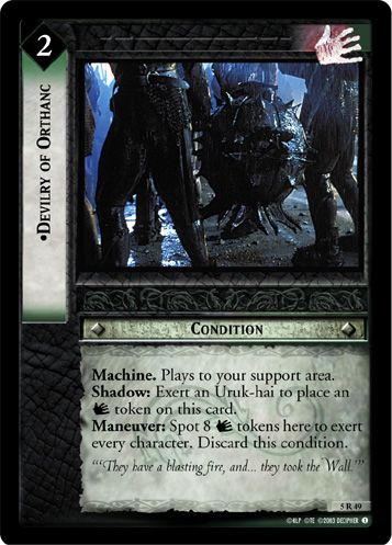 Devilry of Orthanc (5R49) Card Image