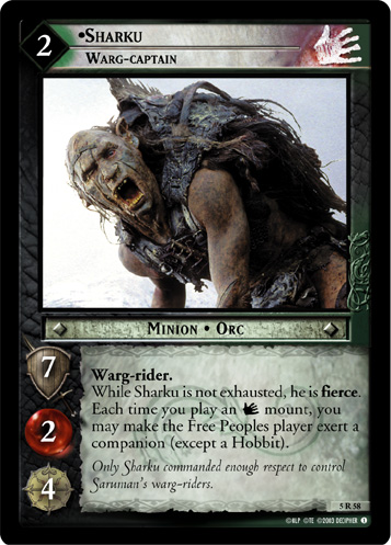 Sharku, Warg-captain (5R58) Card Image