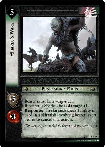Sharku's Warg (5R59) Card Image