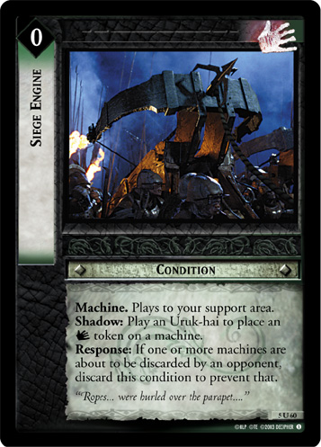 Siege Engine (5U60) Card Image
