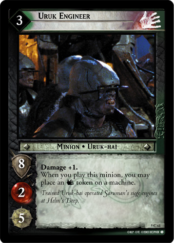 Uruk Engineer (5C61) Card Image