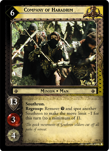 Company of Haradrim (5R71) Card Image
