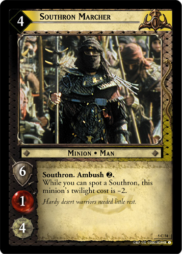 Southron Marcher (5C74) Card Image