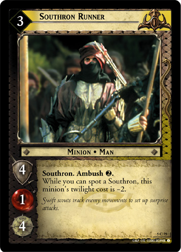 Southron Runner (5C75) Card Image