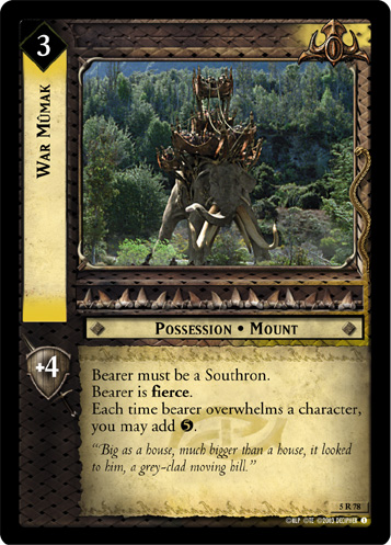 War Mumak (5R78) Card Image