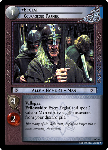 Ecglaf, Courageous Farmer (5C81) Card Image