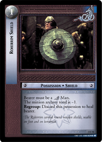 Rohirrim Shield (5C91) Card Image