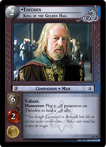 Theoden, King of the Golden Hall (5C93) Card Image