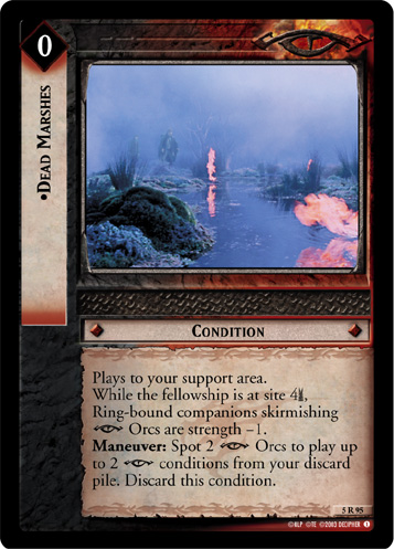 Dead Marshes (5R95) Card Image
