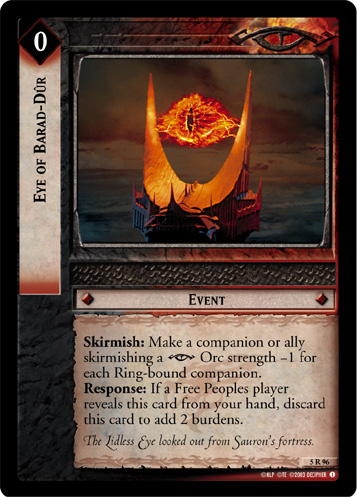 Eye of Barad-Dur (5R96) Card Image