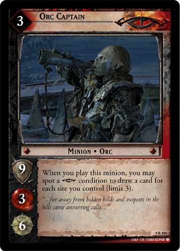 Orc Captain (5R103) Card Image
