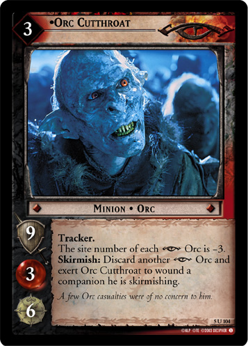 Orc Cutthroat (5U104) Card Image