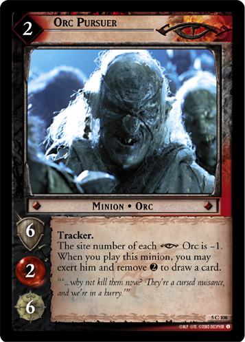 Orc Pursuer (5C108) Card Image