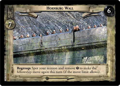 Hornburg Wall (5U118) Card Image