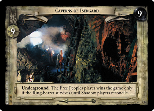 Caverns of Isengard (5U120) Card Image