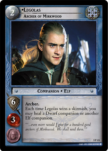 Legolas, Archer of Mirkwood (5P121) Card Image