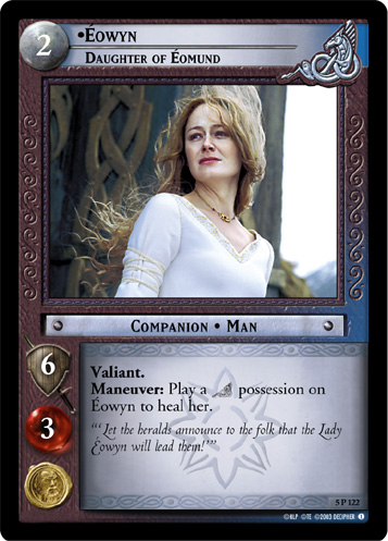 Eowyn, Daughter of Eomund (5P122) Card Image